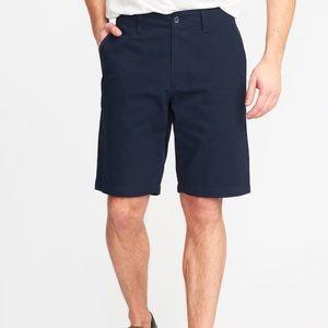New Old Navy Knee Khaki Shorts in Ink Blue SZ 38